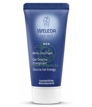 Férfi energetizáló tusfürdő, Weleda (20 ml)