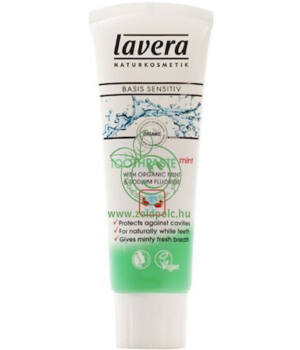 Lavera Basis Sensitive fogkrém (mentolos)