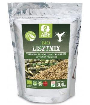 Bio tökmag és kendercsíra liszt mix, Aby