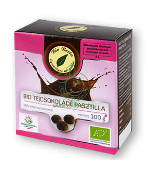Tejcsokoládé pasztilla bio, Bio Berta