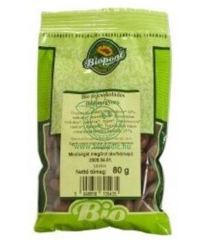 Bio földimogyoró tejcsokoládés, Biopont