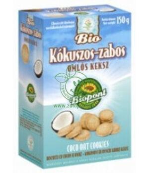 Bio keksz, Biopont (kókuszos-zabos)