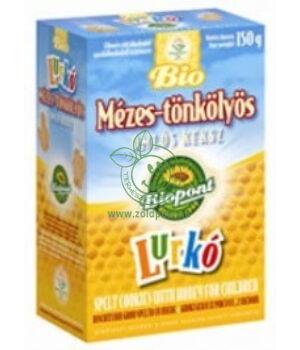 Bio keksz, Biopont (mézes-tönkölyös)
