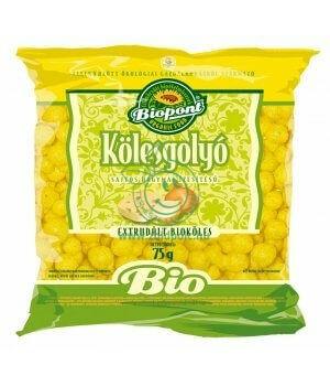 Bio kölesgolyó, Biopont (sajtos-hagymás)