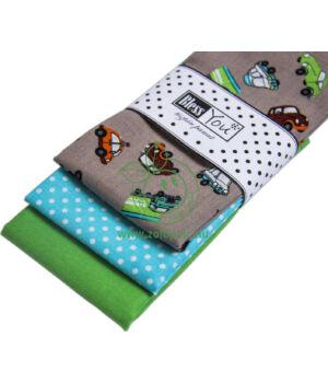 Textil zsebkendő 3 db-os, BlessYou (Gyerek-Autó)