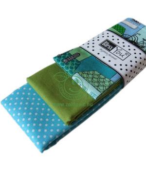 Textil zsebkendő 3 db-os, BlessYou (Gyerek-Macska a háztetőn)