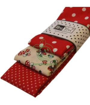 Textil zsebkendő 3 db-os, BlessYou (Gyerek-Vadgomba)