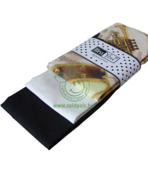 Textil zsebkendő 3 db-os, BlessYou (Női-Viva la musica)