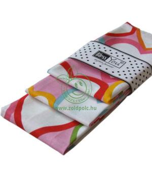 Textil zsebkendő 3 db-os, BlessYou (Női-Anyák napi)