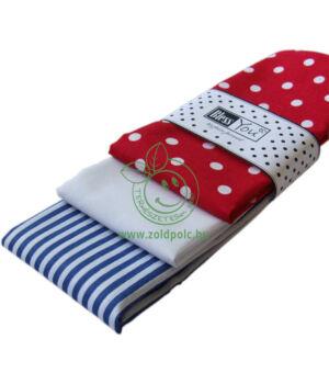 Textil zsebkendő 3 db-os, BlessYou (Női-Tengerész)