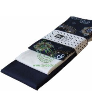 Textil zsebkendő 3 db-os, BlessYou (Női-Török mintás)