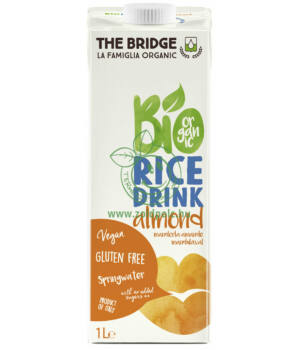 Rizsital bio, mandulás The Bridge (1000ml)