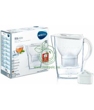 Vízszűrő kancsó Brita Marella Cool (fehér,3 szűrővel)
