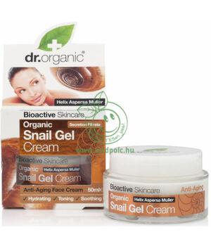 Dr. Organic csigagél arckrém