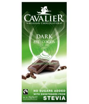 Belga étcsoki steviával, Cavalier (natúr,85g)