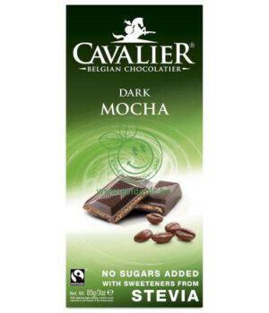 Belga étcsoki steviával, Cavalier (kávés,85g)