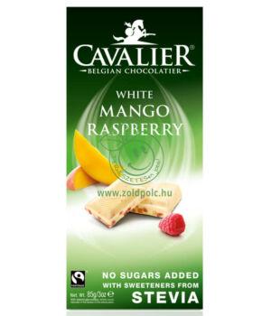 Belga fehércsoki steviával, Cavalier (mangós,85g)