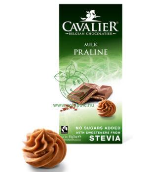 Belga tejcsoki steviával, Cavalier (mogyorókrémes,85g)