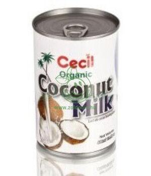 Kókusztej bio, Cecil