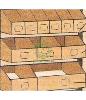 Papír bútor kiegészítő (1/6 nyitott fiók)