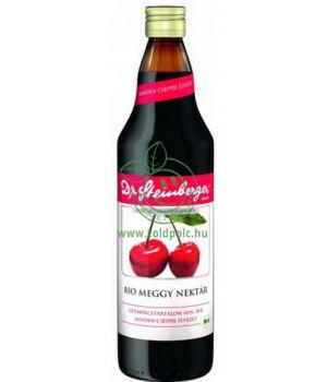 Dr. Steinberger gyümölcslé, bio (meggy)