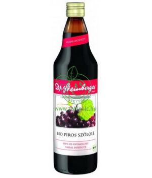Dr. Steinberger gyümölcslé, bio (piros szőlő)