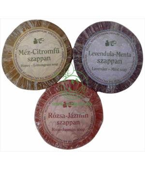 Pannonhalmi szappan doboz nélkül (rózsa-jázmin)