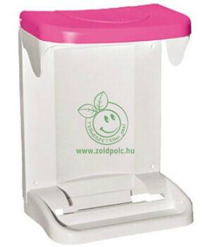 Szelektív szemetes szekrényajtóra (rózsaszín)