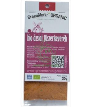 Fűszerkeverék egzotikus bio, GreenMark (Ázsiai)