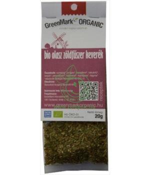 Fűszerkeverék egzotikus bio, GreenMark (Olasz)