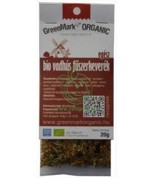 Fűszerkeverék húsokhoz bio, GreenMark (Vadhús)