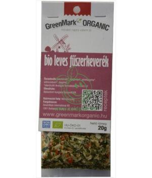 Fűszerkeverék leveshez bio, GreenMark (Leves)