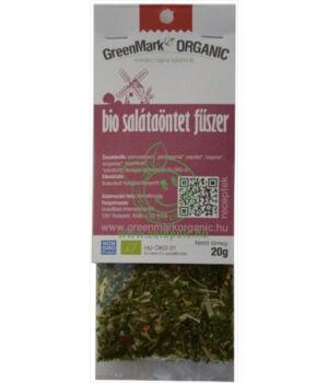 Fűszerkeverék salátához bio, GreenMark (Salátaöntet)