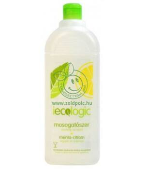 Iecologic mosogatószer konc. 1l (menta-citrom)
