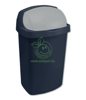 Felhajtható tetejű szemetes, műanyag Roll Top (10l)