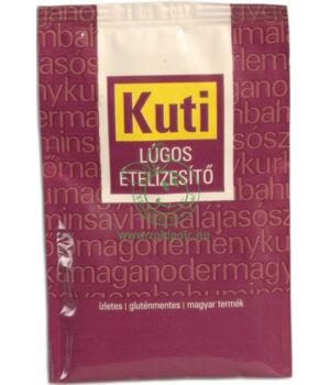 Lúgos ételízesítő gluténmentes, Kuti