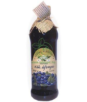 Méhes Mézes szörp, gyümölcs (kék áfonya)