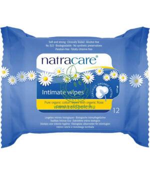 Natracare bio pamut intim törlőkendő