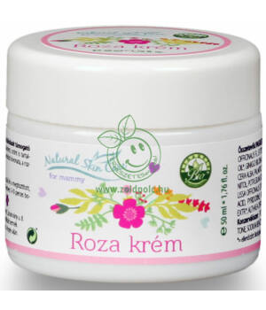 Natural Skin Care roza krém