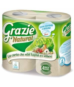 Öko WC papír, Grazie (4db)