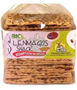 Bio snack, Piszkei öko (lenmagos)