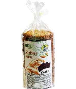 Bio zabos keksz, Piszkei öko (csokis)