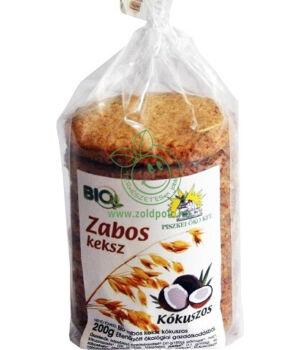 Bio zabos keksz, Piszkei öko (kókuszos)