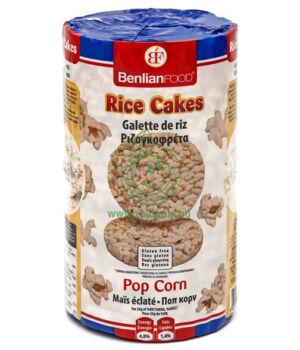 Puffasztott rizs, Rice Cakes (pop-corn ízű)