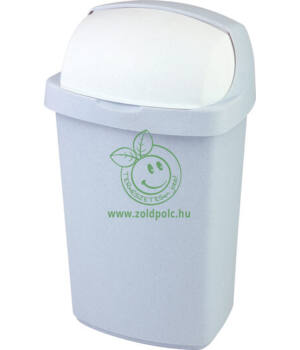 Felhajtható tetejű szemetes, műanyag Roll Top (50l)