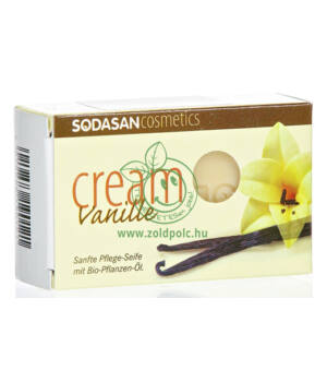 Sodasan szappan bio (vanília)