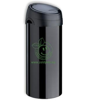Érintőzáras szemetes, fém Soft Touch Bin 40l (fekete)