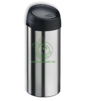 Érintőzáras szemetes, fém Soft Touch Bin 40l (matt acél)
