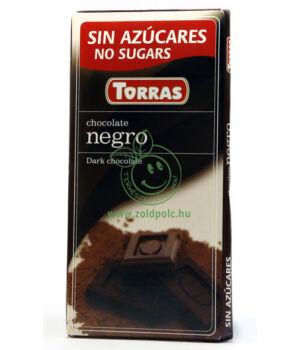 Étcsokoládé, Torras (natúr)