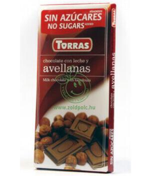 Tejcsokoládé, Torras (mogyorós)